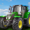 Traktor na farmie